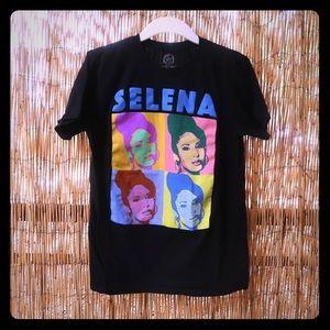SELENA POP ART T-SHIRT